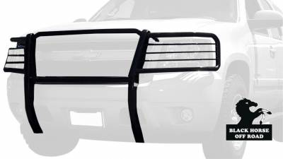 Black Horse Off Road - Grille Guard 17A037400MA - Black | Chevrolet Tahoe, Avalanche 1500, Suburban 1500 - Image 3