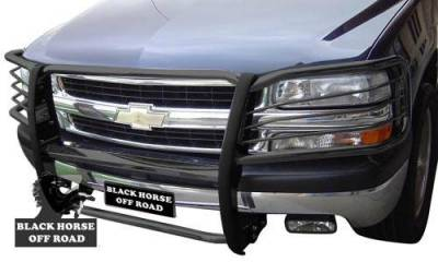 Black Horse Off Road - Grille Guard 17A037400MA - Black | Chevrolet Tahoe, Avalanche 1500, Suburban 1500 - Image 4