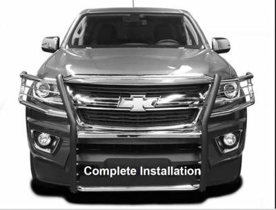 Black Horse Off Road - Grille Guard 17GC15MA - Black | Colorado - Image 4