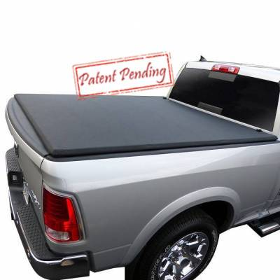Black Horse Off Road - K | Premier Soft Tonneau Cover | Black | 6.6ft bed | PRS-GM22 - Image 2