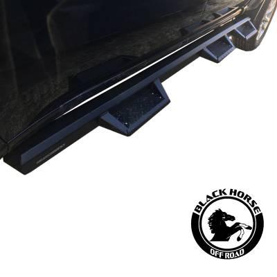 Black Horse Off Road - F   Superior Side Steps WTW   Black - Image 14