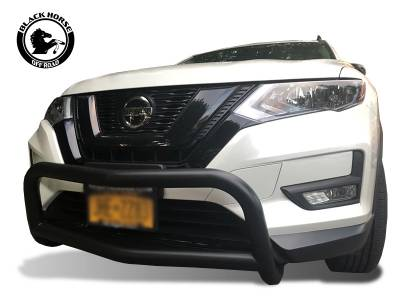 Black Horse Off Road - Bull Bar BB116705A-SP - Black with Black Skid Plate Nissan Rogue - Image 2