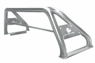 Black Horse Off Road - J | Classic Roll Bar | Stainless Steel | Tonneau Cover Compatible | RB09SS - Image 3