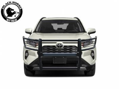 Bumpers - Rear Bumper - Black Horse Off Road - D | Grille Guard | Black
