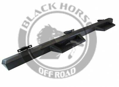 Black Horse Off Road - F | Impact Side Steps | Black - Image 2