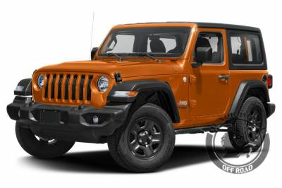 Products - Black Horse Off Road - Black Horse IM-JEJL4D Black 2018-2019 Jeep Wrangler JL  Impact Side Step, Nerf Bar