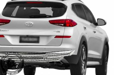 Black Horse Off Road - G | Rear Bumper Guard | Stainless Steel | Double Layer - Image 2