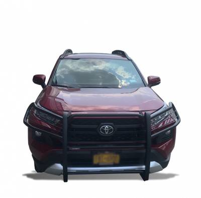 Black Horse Off Road - Black Horse 17A093904MA Black 2019-2020 Toyota RAV4 Modular Grille Guard - Image 4