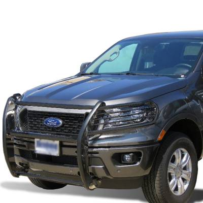 Front End Protection - Grille Guards - Black Horse Off Road - 2019 Ford Ranger Black Horse 17FP10MA Black Modular Grille Guard