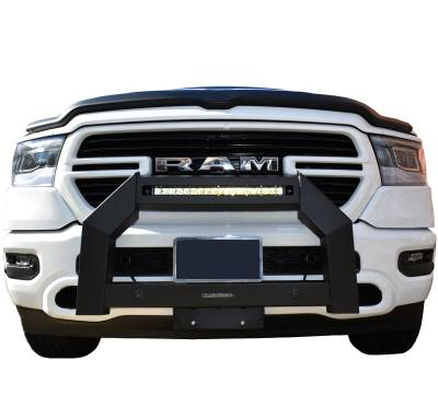 Products - Front End Protection - Black Horse Off Road - A | Armour Bull Bar | Satin Black | AB-DO20-NL