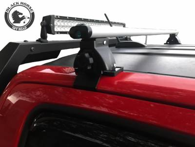 Black Horse Off Road - M | Traveler Cross Bar | Silver | 52in | Complete Roof Rack System