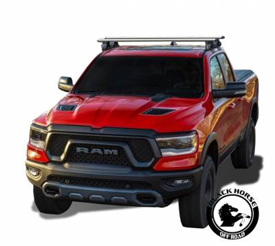 Roof Racks and Cargo - Universal Cross Bar - Black Horse Off Road - Black Horse  Silver Cross Bar TR-52SI compatible with 15-20 Chevy Colorado /15-20 GMC Canyon/ 05-20 Nissan Frontier/ 19-20 Ford Ranger