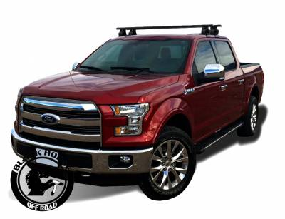 Roof Racks and Cargo - Universal Cross Bar - Black Horse Off Road - Black Horse Black Cross Bar TR-52BK compatible with 15-20 Chevy Colorado /15-20 GMC Canyon/ 05-20 Nissan Frontier/ 19-20 Ford Ranger