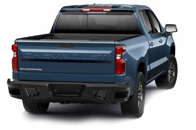 Bumpers - Rear Bumper - Black Horse Off Road - I | Armour Rear Bumper | Black | ARB-SI25-20