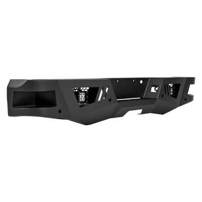 Black Horse Off Road - I |Heavy DutyArmour Rear Bumper | Black |ARB-SI25-20 - Image 4