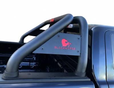 Black Horse Off Road - J | Classic Roll Bar | Black| Tonneau Cover Compatible|RB006BK - Image 3