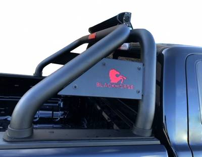Black Horse Off Road - J | Classic Roll Bar | Black | Tonneau Cover Compatible|RB005BK - Image 3
