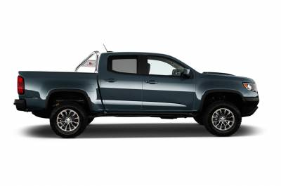 Black Horse Off Road - J | Classic Roll Bar | Stainless Steel | Tonneau Cover Compatible|RB005SS - Image 2