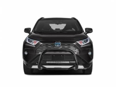Products - Front End Protection - Black Horse Off Road - A | Max Beacon Bull Bar | Black