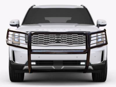Front End Protection - Grille Guards - Black Horse Off Road - D | 2020 Kia Telluride  |  Grille Guard | Black