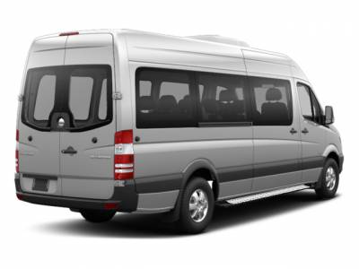 Black Horse Off Road - E | Transporter Running Boards | Silver |   TR-D23596S - Image 4