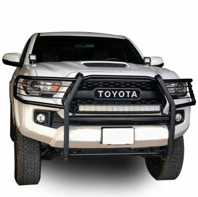 Black Horse Off Road - D | Grille Guard | Black | 17A096402MA