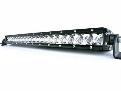 "Lights - LED Lights - Black Horse Off Road - P | Single Row LED Light Bar 20"" 300W | Color: Clear | Spot and Flood | PL3104FS-SNL3W"