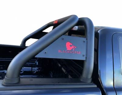 Black Horse Off Road - J | Classic Roll Bar | Black | Tonneau Cover Compatible | RB007BK - Image 3