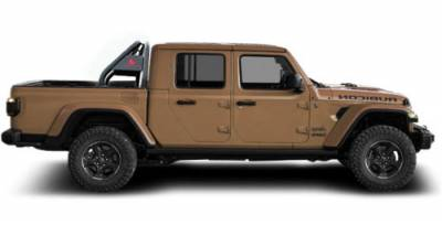Black Horse Off Road - J | Classic Roll Bar | Black | Tonneau Cover Compatible | RB09BK - Image 6