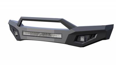 Black Horse Off Road - B | Armour Front Bumper | Black | AFB-RA19 - Image 4