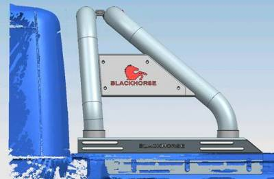 Black Horse Off Road - J | Classic Roll Bar | Black| Tonneau Cover Compatible|RB09BK - Image 10
