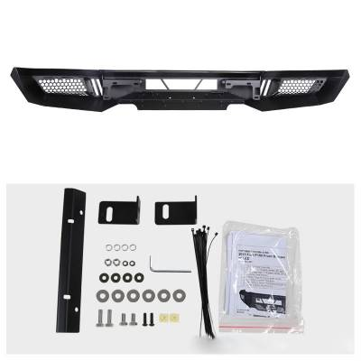 Black Horse Off Road - B | Armour Front Bumper | Black | AFB-SI16 - Image 7