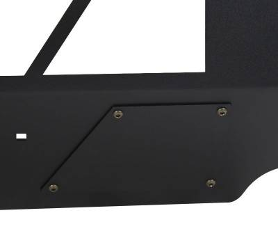 Black Horse Off Road - B | Armour Front Bumper | Black  | AFB-TA16 - Image 6
