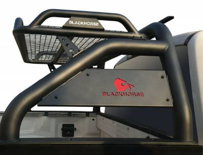 Products - Roll Bars - Black Horse Off Road - J | Atlas Roll Bar | Black | Tonneau Cover Compatible |  ATRB7BK