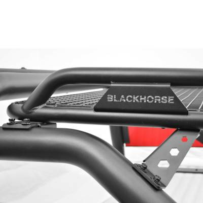 Black Horse Off Road - J | Atlas Roll Bar | Black | Tonneau Cover Compatible |  ATRB10BK - Image 7