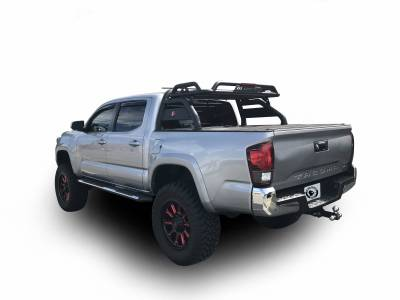 Black Horse Off Road - J | Atlas Roll Bar | Black | Tonneau Cover Compatible |  ATRB6BK - Image 2