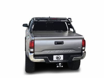 Black Horse Off Road - J | Atlas Roll Bar | Black | Tonneau Cover Compatible |  ATRB6BK - Image 3