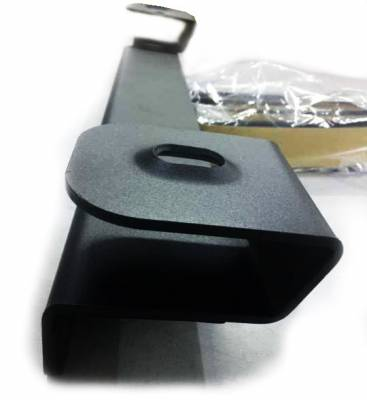 Black Horse Off Road - A   Bull Bar   Stainless Steel   Skid Plate   BB037411-SP - Image 4