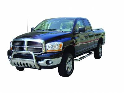 Black Horse Off Road - A | Bull Bar | Stainless Steel | Skid Plate | BB076010-SP - Image 1