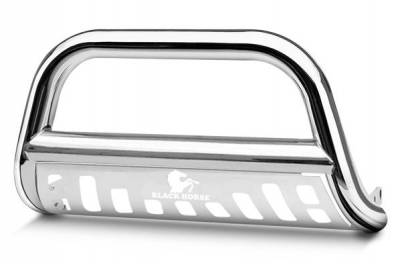 Black Horse Off Road - A | Bull Bar | Stainless Steel | Skid Plate | BB113206-SP - Image 1
