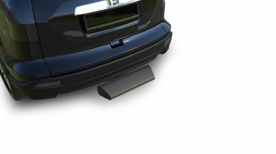 "Products - Hitch Steps - Black Horse Off Road - H | Blade Rear Bumper Guard Step | Black | 2"" Inlet - 12"" Long 