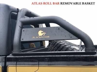 Black Horse Off Road - J | Atlas Roll Bar | Black |ATRB9BK - Image 8