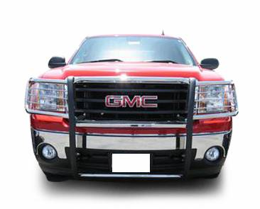 Front End Protection - Grille Guards - Black Horse Off Road - D | Grille Guard | Black | 17GS10MA