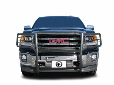 Front End Protection - Grille Guards - Black Horse Off Road - D | Grille Guard | Black | 17GS12MA