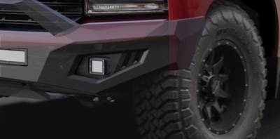 Black Horse Off Road - B | Armour Heavy Duty Front Bumper | Black | AFB-SI19 - Image 8