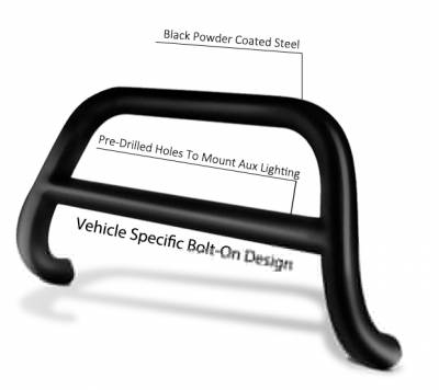 Black Horse Off Road - A | A Bar | Stainless Steel | CBS-HYB6101 - Image 5