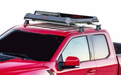 Black Horse Off Road - M | Traveler Cross Bar with Aluminum Basket | Silver | 60in | Complete Roof Rack System | TRRB260S - Image 2
