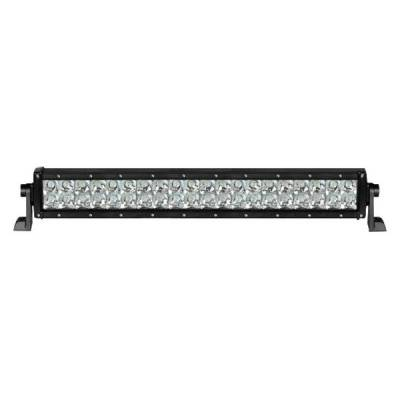 Black Horse Off Road - D | Rugged Grille Guard Kit | Black | With 20in Double Row LED Light Bar | RU-GMSI15-B-K1 - Image 5
