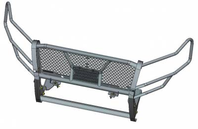 Black Horse Off Road - D | Rugged Grille Guard Kit | Black | With 20in Double LED Light Bar | RU-FOEX18-B-K1 - Image 4