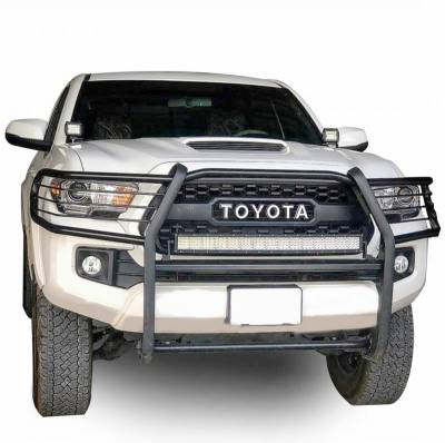 Black Horse Off Road - D | Grille Guard | Black |  Black | 17A096402MA